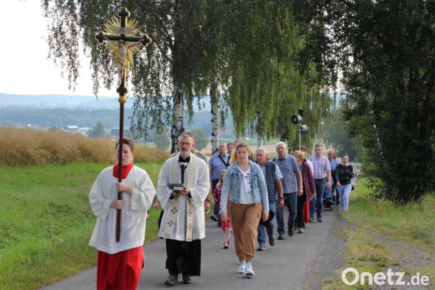 Fußwallfahrt zur Gommelberg-Kapelle in Pleußen
