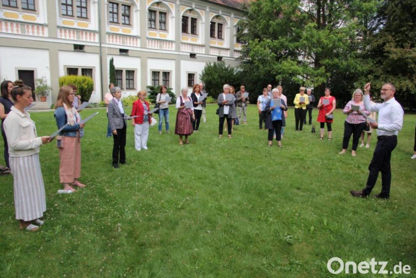 Kirchenmusikdirektor Sagstetter 20 Jahre im Amt