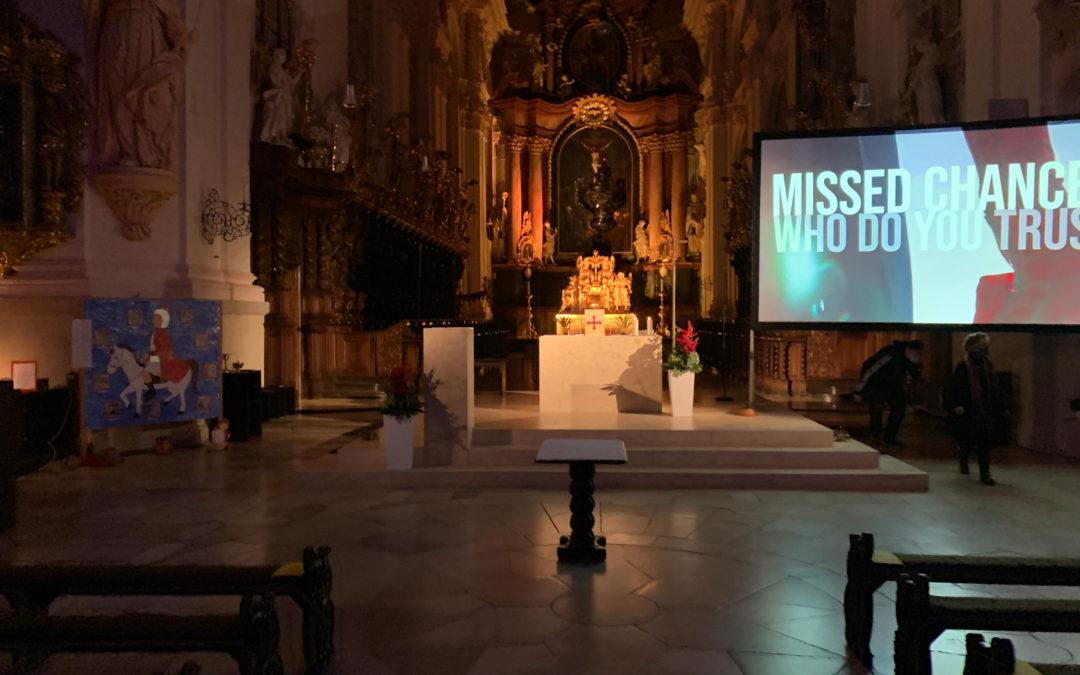 Kinogottesdienst in der Basilika