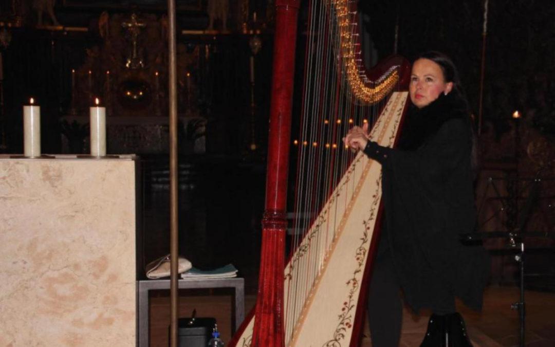 Harfenmusik in der Basilika