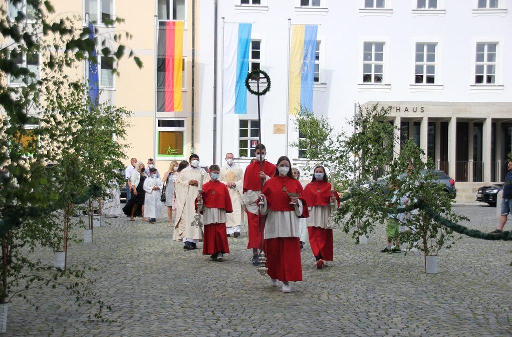 Erstkommunion am 20.06.2021 in der Basilika Waldsassen