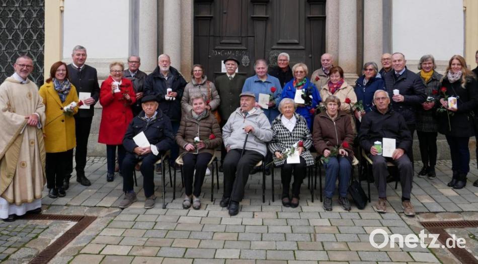 Kirchweihfest mit den Ehejubilaren in der Basilika